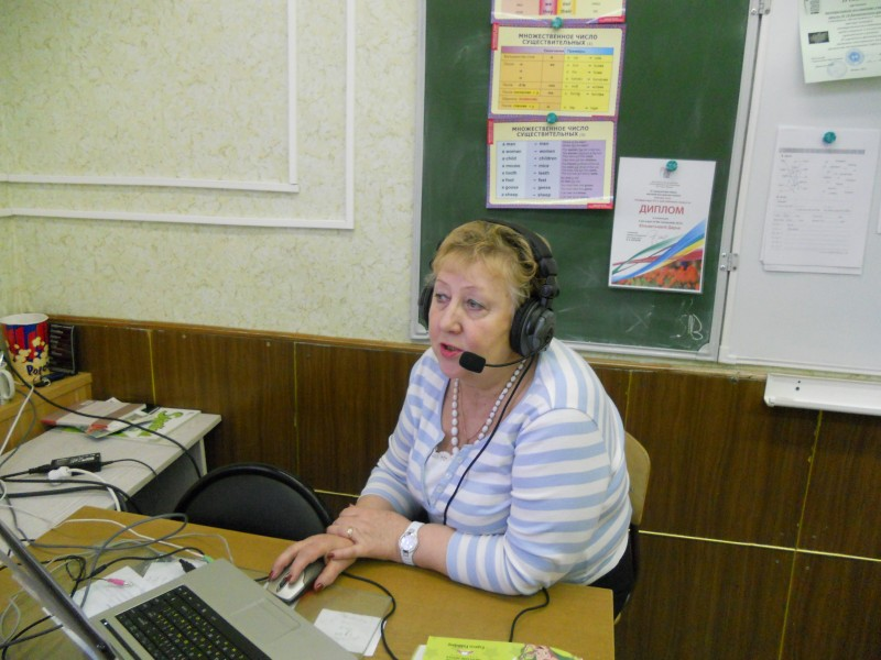 """The best participant of the project   """"English  for Tatarstan"""""""